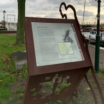 De Schepentrekkersroute wandelen in Sas van Gent